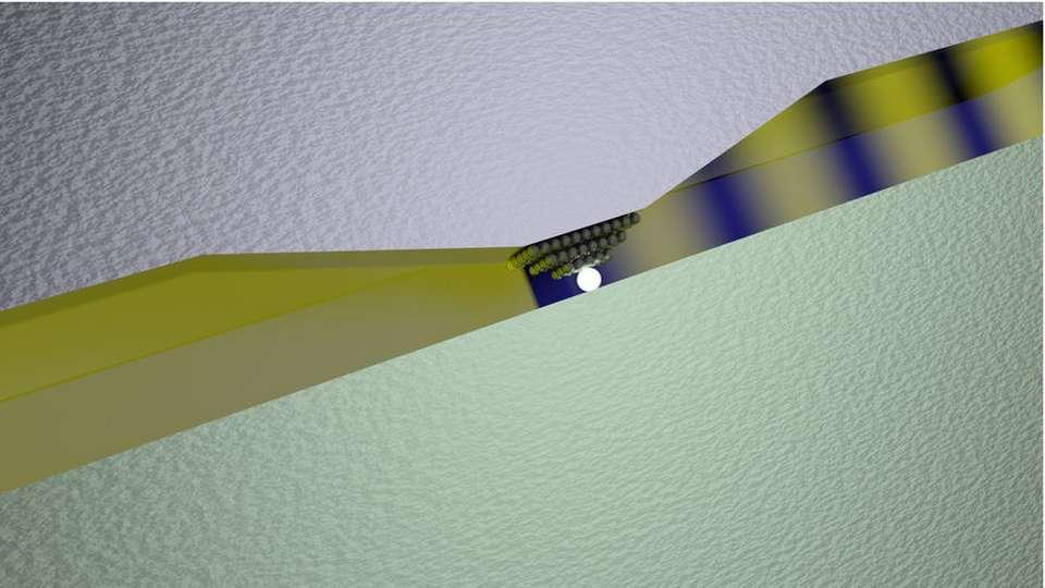 Silber-Atom schaltet Licht ein und aus