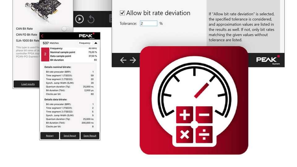 Gratis-App berechnet Registerwerte für CAN- und CAN-FD