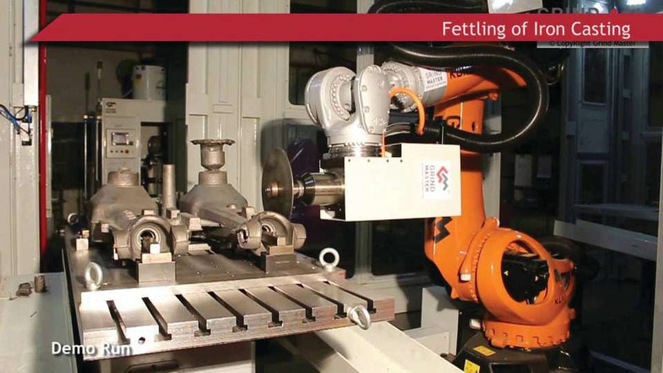 Robotic fettling for iron castings: Changing the foundry industry